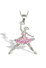 Nutcracker Ballet Gifts Ballerina Dancer Necklace