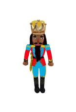 Nutcracker Ballet Gifts African American King Nutcracker Plush Doll