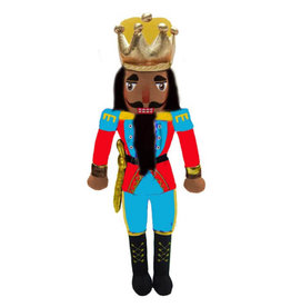 Nutcracker Ballet Gifts African American King Nutcracker Plush Doll