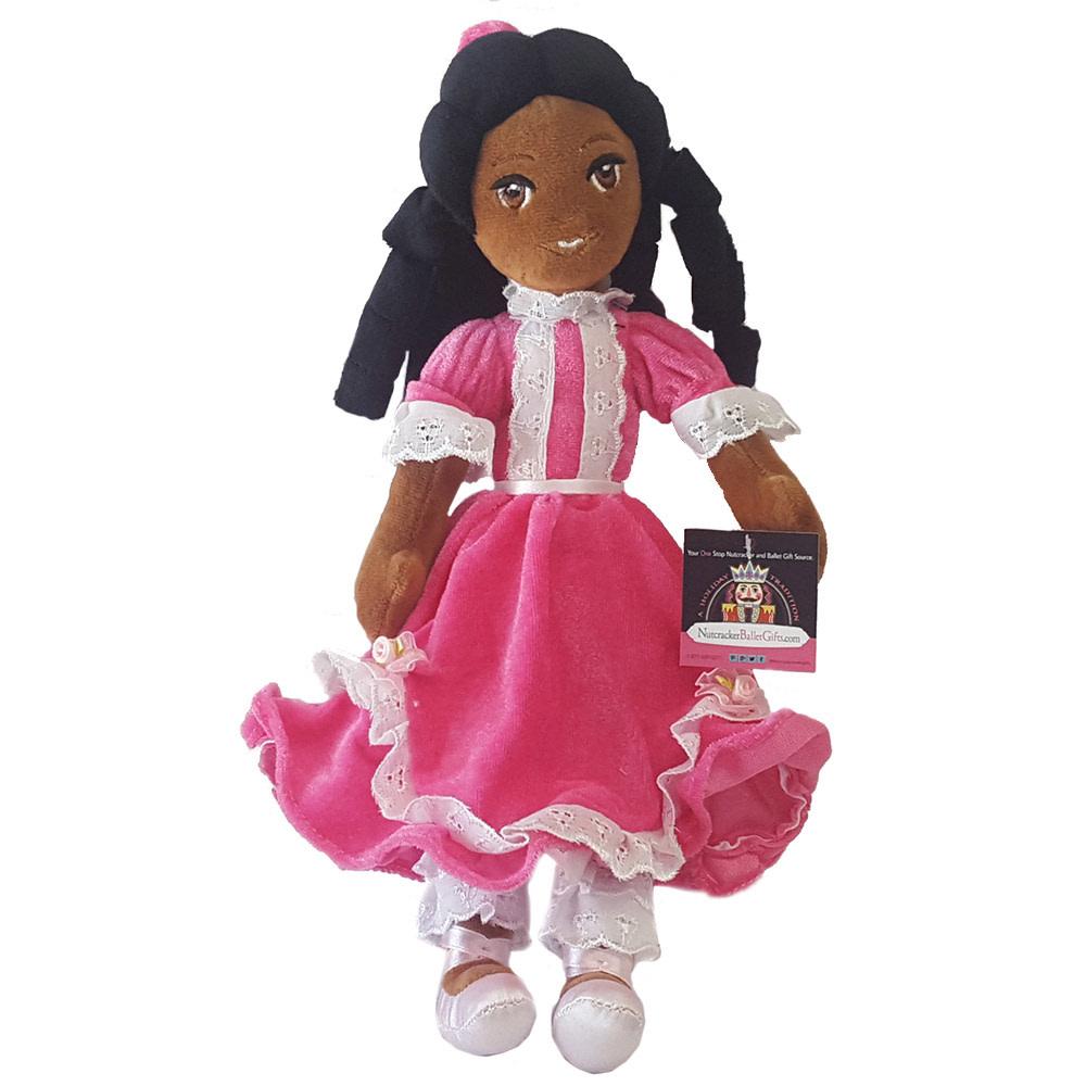 Nutcracker Ballet Gifts African American Plush Clara Doll