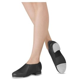 Leo Dancewear Leo Child Slip-on Jazz Tap BLK