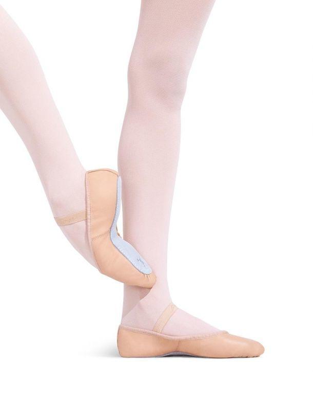 Capezio Adult Daisy Leather Ballet Shoe