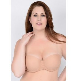 "QT Shapree Intimates ""Clearly Hooked"" Convertable Bra"