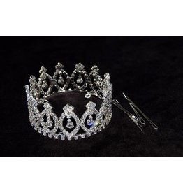 Yofi Cosmetics Yofi Large Rhinestone Crown