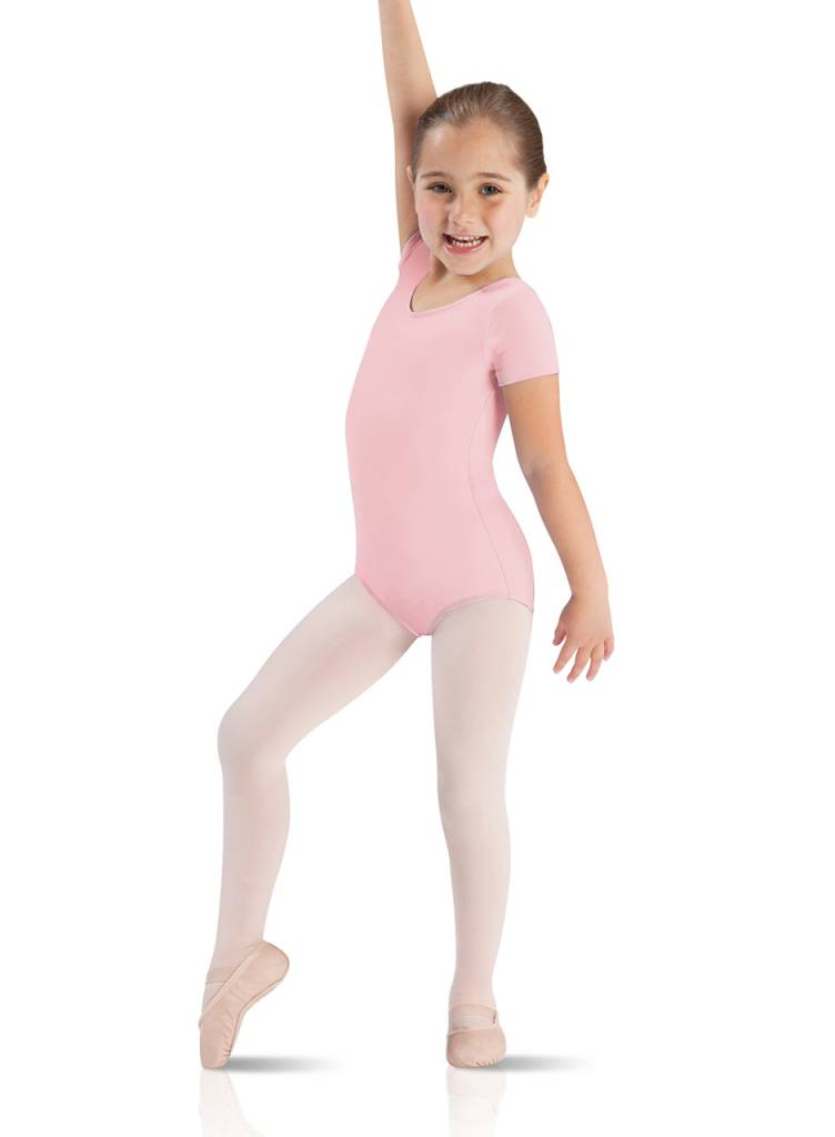 Leo Dancewear Leo Child Short Sleeve Leotard