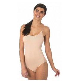 QT Shapree Intimates QT Adult Nude Bodyliner W/Pads
