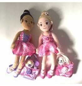 C and J Merchantile Fancy Prancy Ballerina Doll w/ Puppy