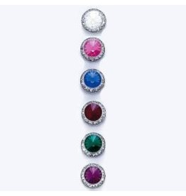 Dasha Designs Crystal Swarovski Earrings (8/13mm)
