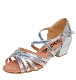Stephanie Dance Shoes, Inc. GO3061G SILVER LEATHER