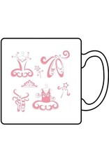 C and J Merchantile Ballerina Coffee Mug