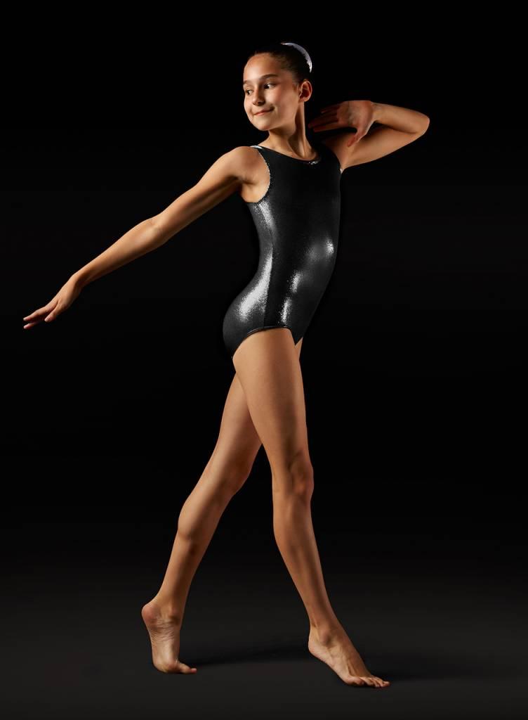 Leo Dancewear Adult Foil Tank Gymnastic Leotard