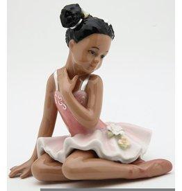 Nutcracker Ballet Gifts Porcelain African American Ballerina Figurine