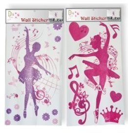 Dasha Designs Dancing Ballerina Wall Decals