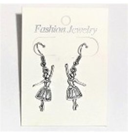 C and J Merchantile Ballerina Earrings