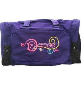 """Sassi 20"""" Emily Floral Dance Duffle"""