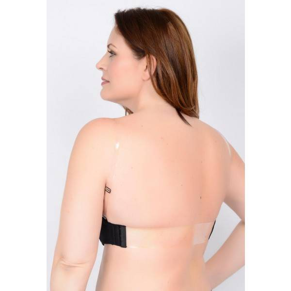 QT Shapree Intimates 312 QT Clear Back Straps