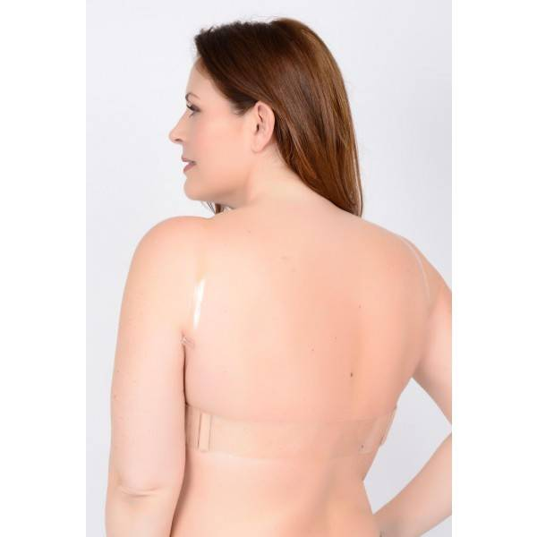 QT Shapree Intimates 312 QT Clear Shoulder Straps