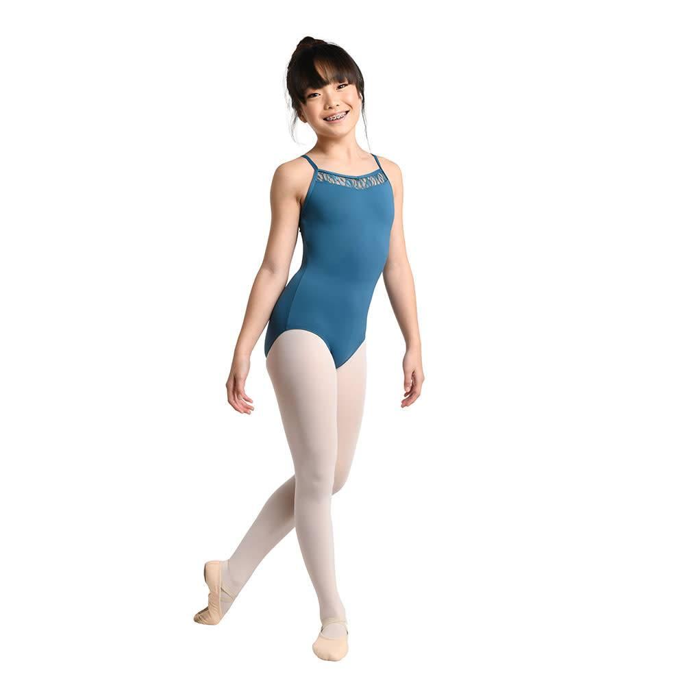 DanzN'Motion Girls Lace Camisole Leotard