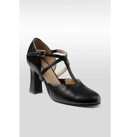 "So Danca Roxy 3"" Pro T-Strap Broadway Shoe"