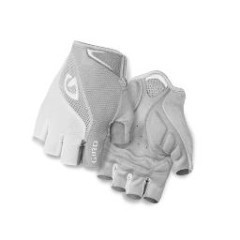 GIRO GLOVES BRAVO, GIRO, GLOVES, WHITE/SILVER