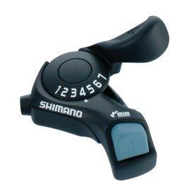 Shimano Shiman, Turney SL-TX30, Shift levers, 6 sp., Pair
