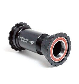 Wheels Manufacturing Wheels Manufacturing, PressFit 86/92 ACB, Shiman, BB Shell: 86.5mm, Dia.: 41mm, Axle: 24mm, ACB, Black, BB86-UT-AC