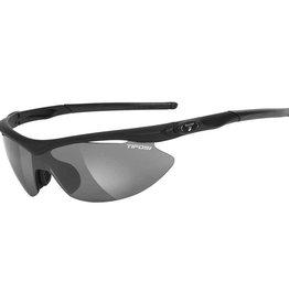 Tifosi Slip, Sunglasses, Tifosi, Frame: Matte Black, Lenses: Smoke, AC Red, Clear