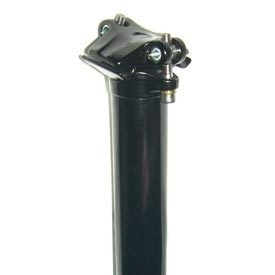 Evo Barrel Head, Seatpost, EVO, Black,
