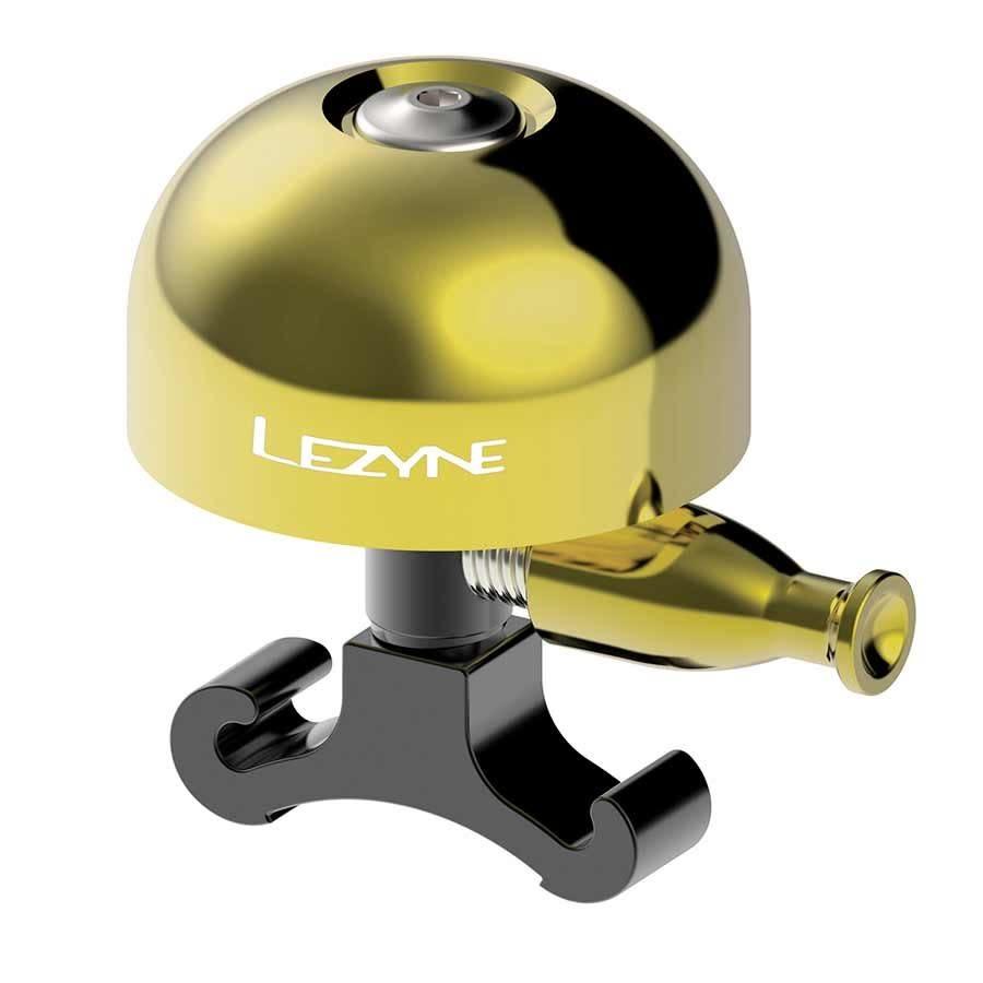 Lezyne Lezyne, Classic, Bell, Brass, Black, Medium
