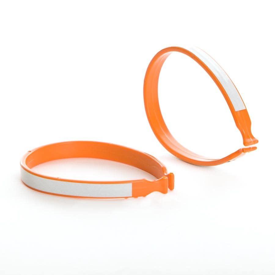 Evo EV, Plastic Pant Clip With Reflective Stripe, range
