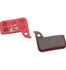 Jagwire Jagwire, Muntain Sprt, Disc brake pads, Semi-metallic, SRAM Red 22, Frce 22, CX1, Rival 22, S700, Level Ultimate, TLM