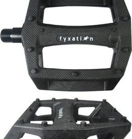 FYXATION GATES PC PEDAL, LOOSE BEARINGS, BK