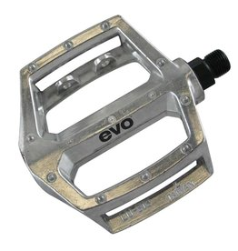 Evo EV, Freefall, Platfrm pedals, 9/16'', Moulded pins, Silver