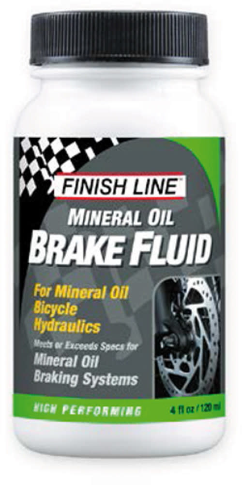 Finish Line Mineral Brake Fluid 4oz Big Mouth
