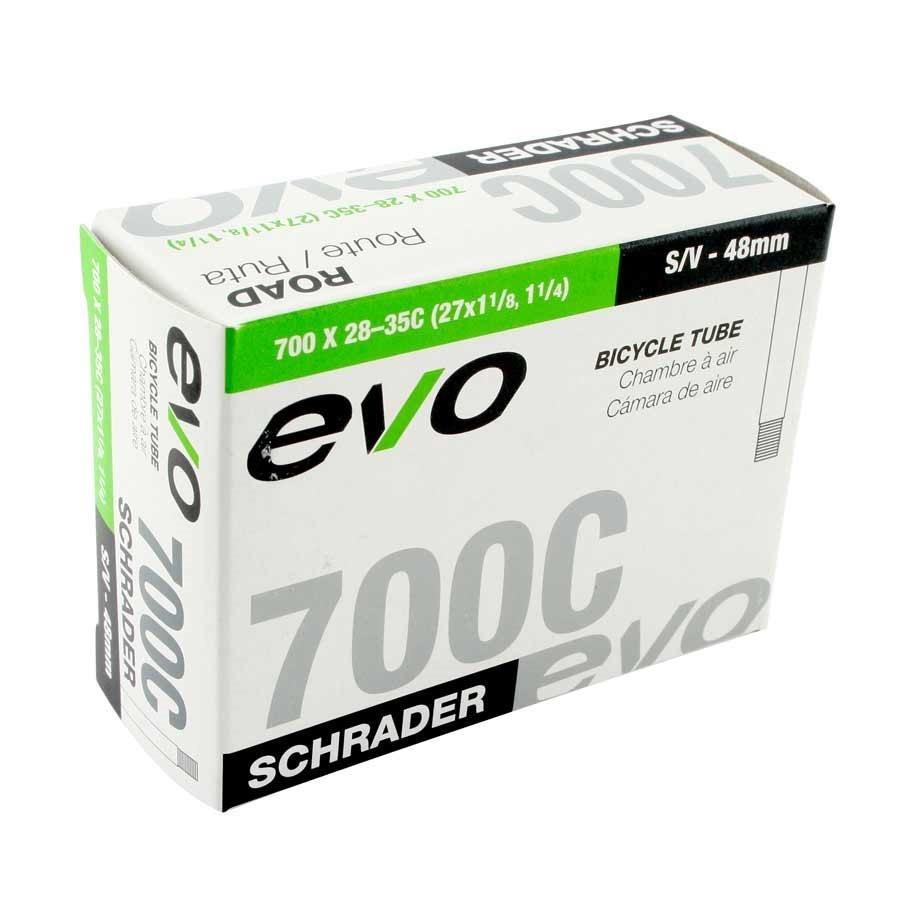 Evo EVO, Schrader, Tube, Schrader, 12'', 1.75-2.125, Length: 35mm,