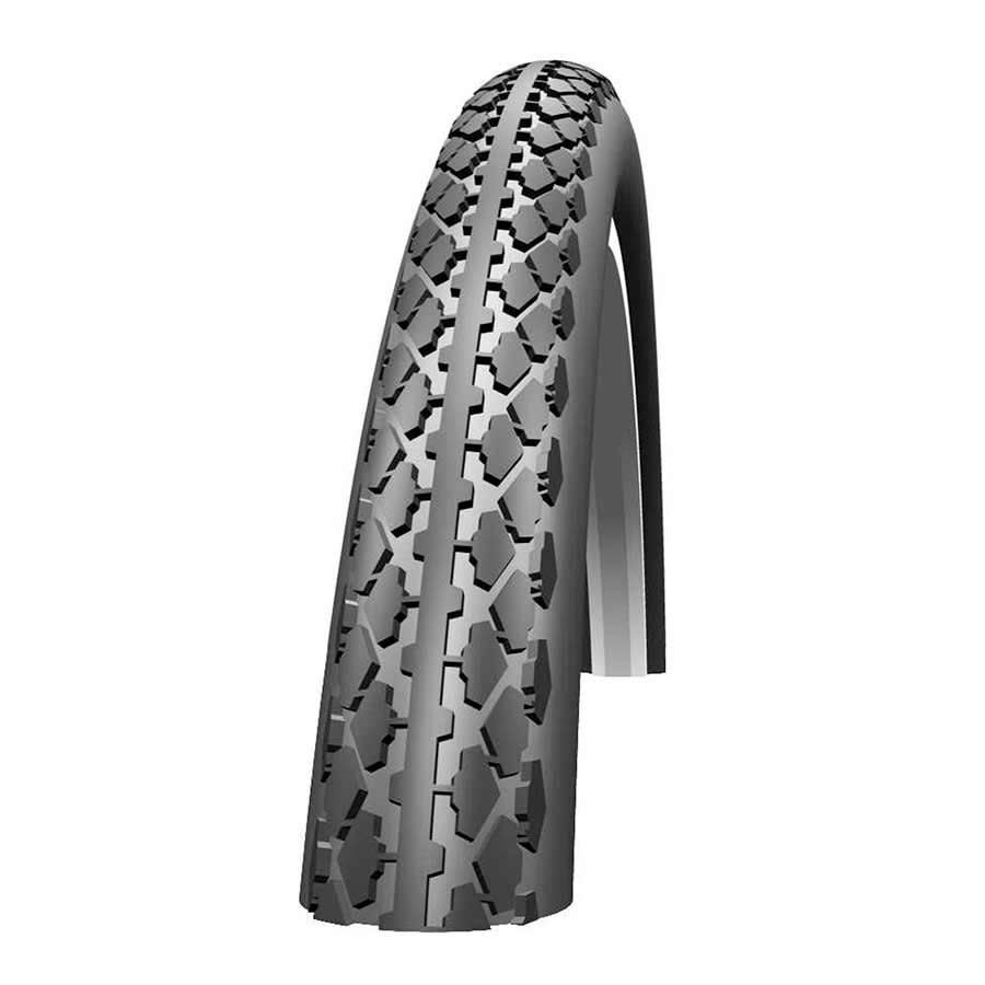 Schwalbe Schwalbe, HS159 Puncture Prtectin, 27x1-1/4 (630 IS), Wire, SBC, Clincher, KevlarGuard, 50TPI, 50-85PSI, Black/Gumwall