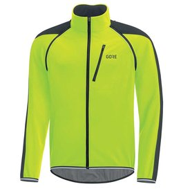 Gore Wear GRE WEAR, C3 GWS Phantom, Zip-ff jacket, Black/Nen Yellw, M, 1001909908
