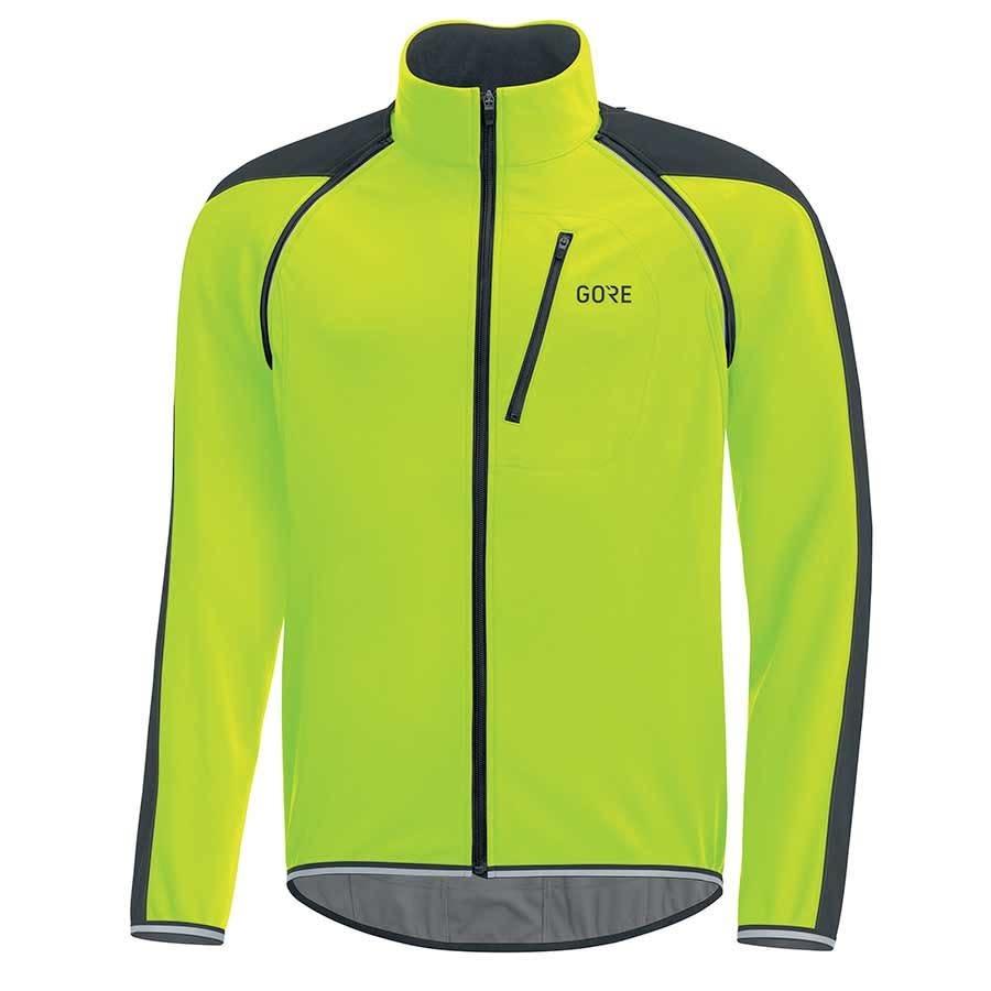 Gore Bike Wear GRE WEAR, C3 GWS Phantom, Zip-ff jacket, Black/Nen Yellw, L, 1001909908