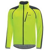 Gore Wear GRE WEAR, C3 GWS Phantom, Zip-ff jacket, Black/Nen Yellw, XL, 1001909908