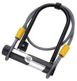 Onguard OnGuard, G 5815, U-Lock, 106mm x 200mm (4.2'' x 7.9'') / Cable 10mm x 120cm (10mm x 4')