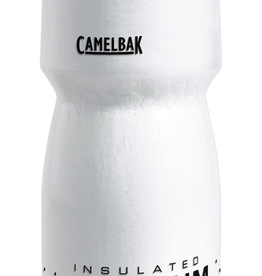 CAMELBAK Camelbak Podium Chill Water Bottle: 24oz, White/Black
