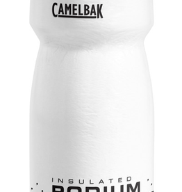 CAMELBAK Camelbak Podium Chill Water Bottle: 21oz, White/Black