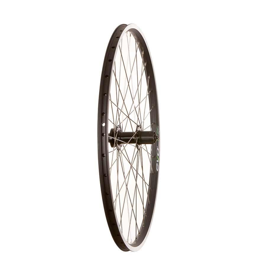 "WHEEL SHOP Wheel Shp, Rear 27.5"" Wheel, 36H Black Ally Duble Wall Ev E Tur 19/ Black Frmula DC-22 QR 8-10spd 6 Blt Disc Hub, Stainless Spkes"
