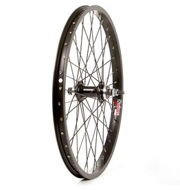 "WHEEL SHOP Wheel Shp, Rear 20"" Wheel, 36H Black Ally Single Wall Alex J-303/ Black Jytech A076 Nutted 3/8 Axle FW Hub/ Black Stainless Spkes"