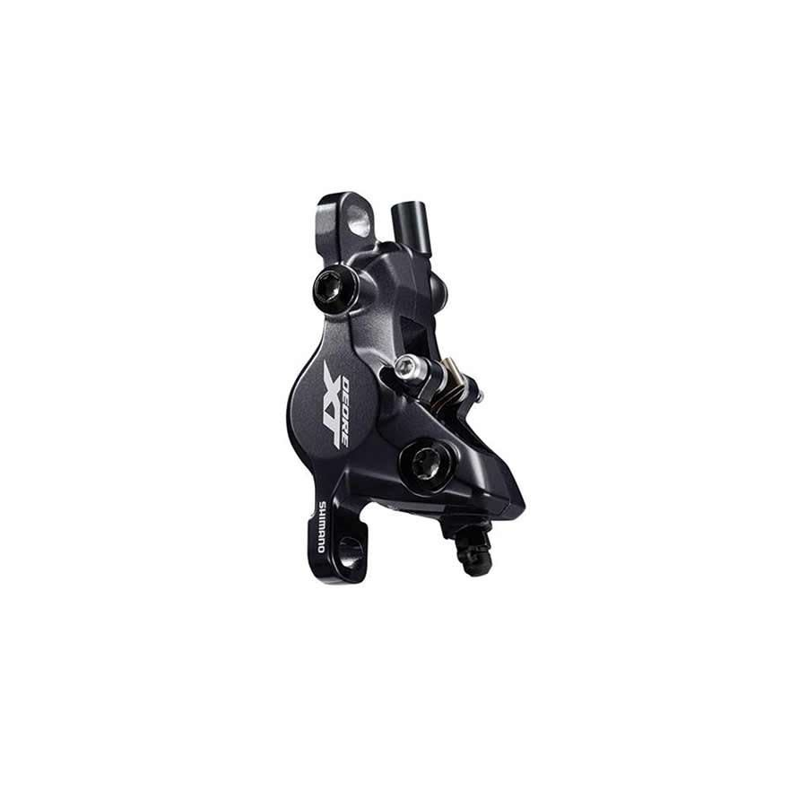 Shimano Shimano, XT BR-M8100, MTB Hydraulic Disc Brake, Front or Rear, Post mount, Disc: Not included, Black
