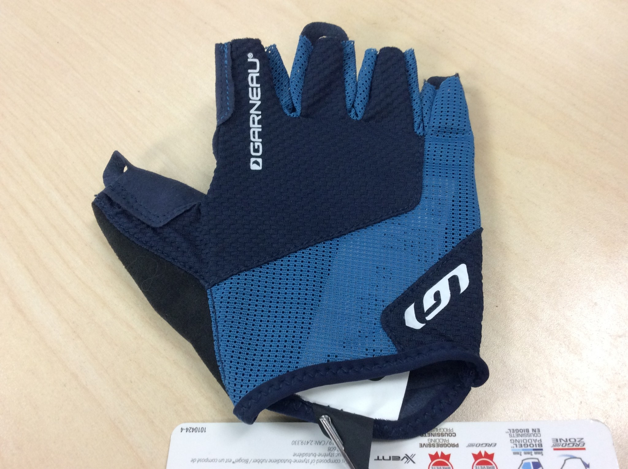 GARNEAU NIMBUS EVO CYCLING GLOVES DARK NIGHT L
