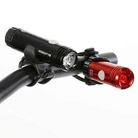 Evo EVO, NiteBright 110/25, Light, Set, Black/Red