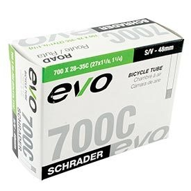 Evo EVO, Schrader, 48mm, INNER TUBE,  700X28-35C XL