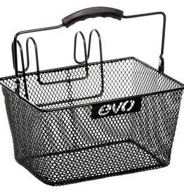 Evo EV, E-Cargo Lift Off Mesh, Basket, Black, 24x17x13cm