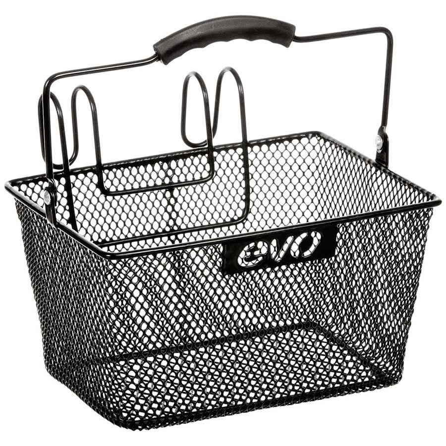 Evo EV, E-Carg Lift ff Mesh, Basket, Black